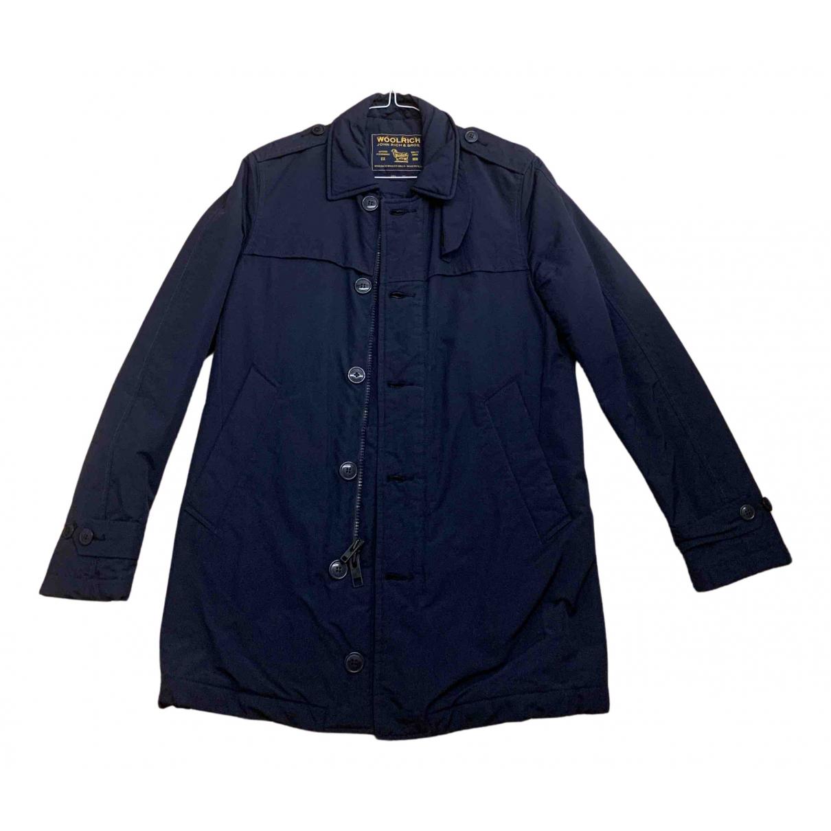 Woolrich \N Jacke in  Blau Polyester