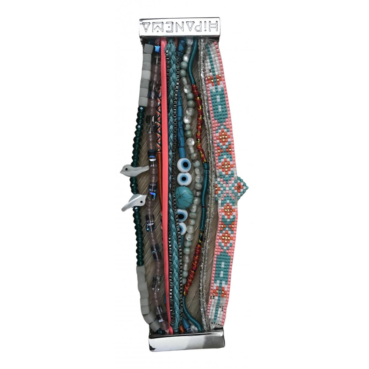 Hipanema - Bracelet   pour femme en toile - turquoise