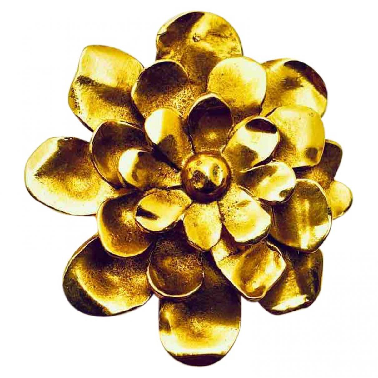 Christian Lacroix - Broche   pour femme en plaque or - dore