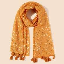 Schal mit Bluemchen Muster