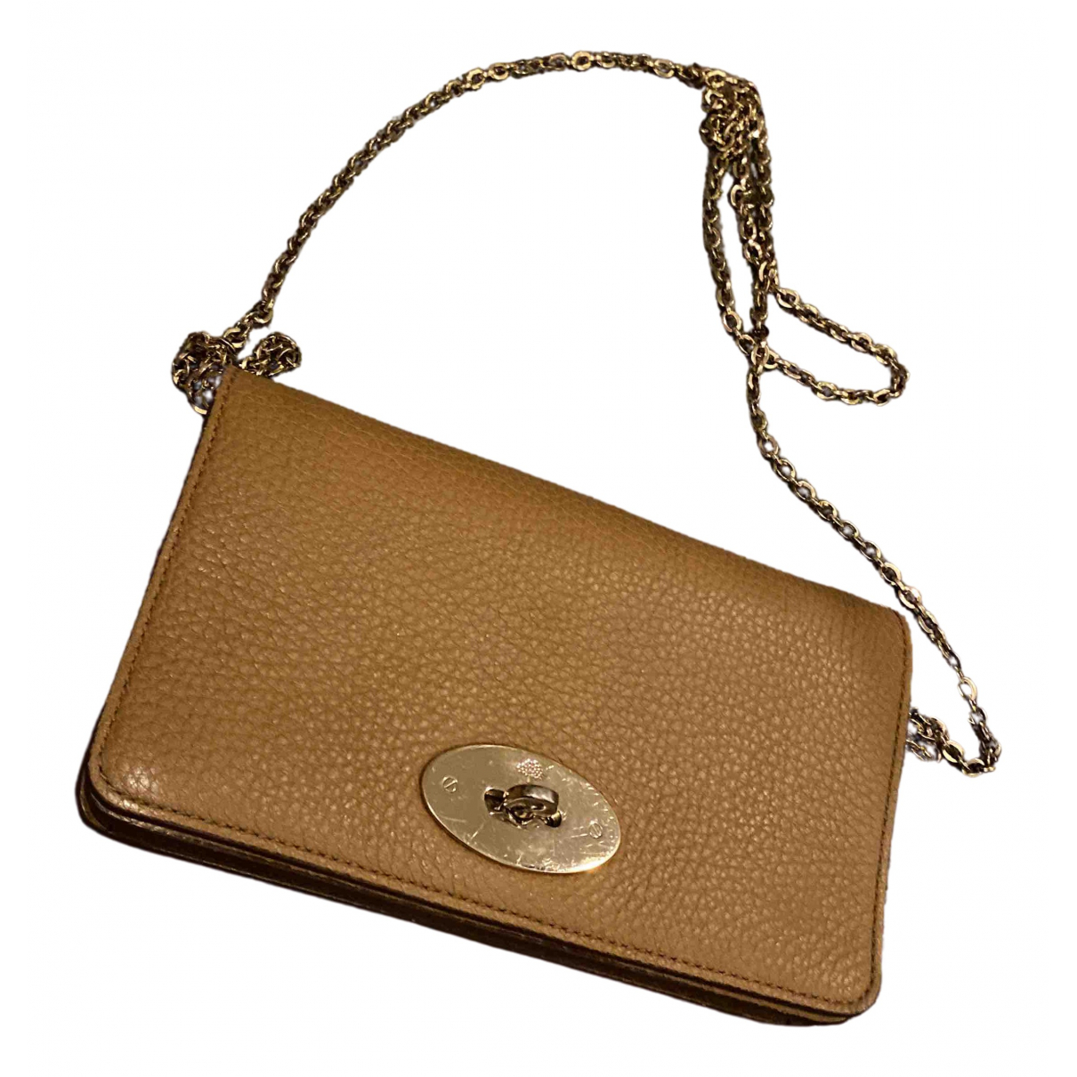 Mulberry \N Camel Leather Clutch bag for Women \N