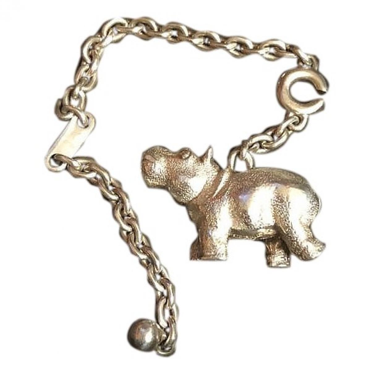 Hermes \N Taschenschmuck in  Silber Silber