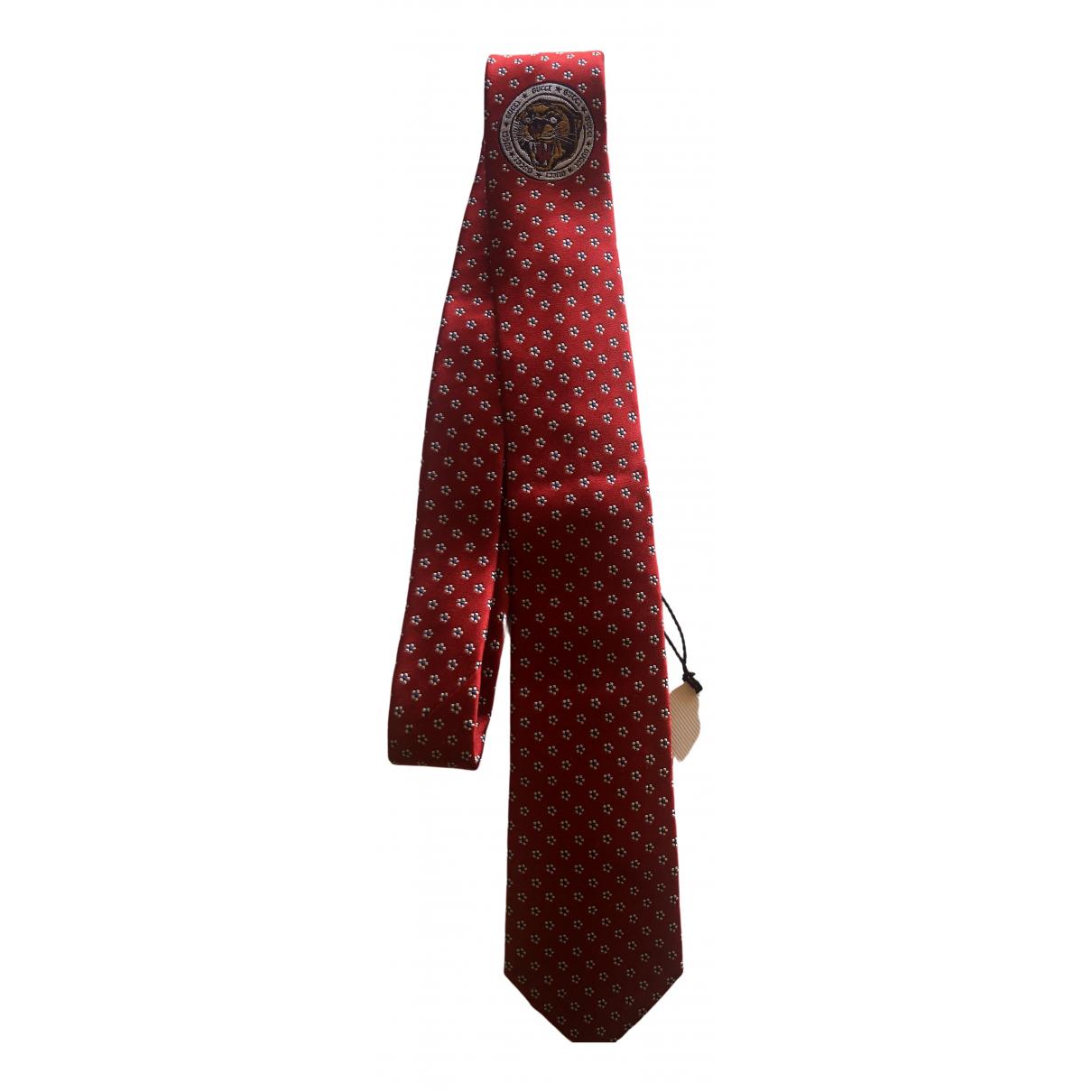 Gucci - Cravates   pour homme en soie - rouge