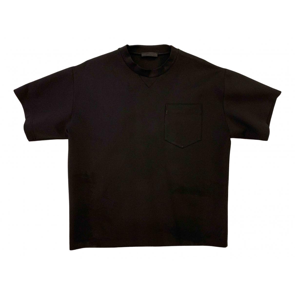 Prada - Tee shirts   pour homme - noir