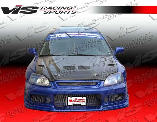 VIS Racing 94ACINT2DEV-010C Carbon Fiber EVO Style Hood Acura Integra 94-01