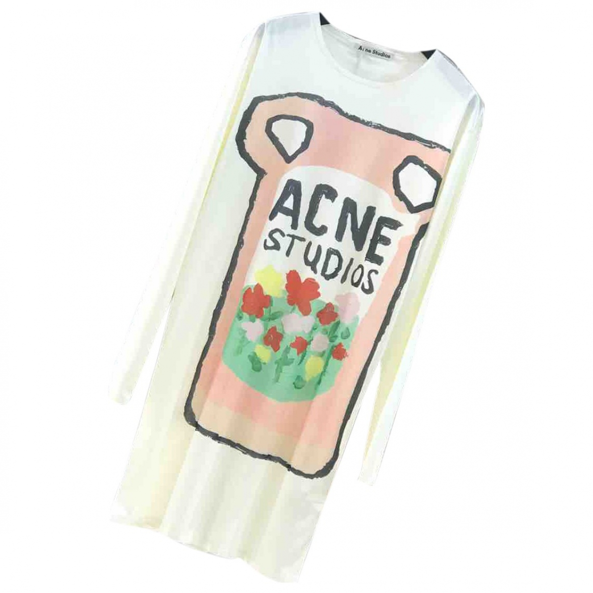 Acne Studios \N Ecru dress for Women S International