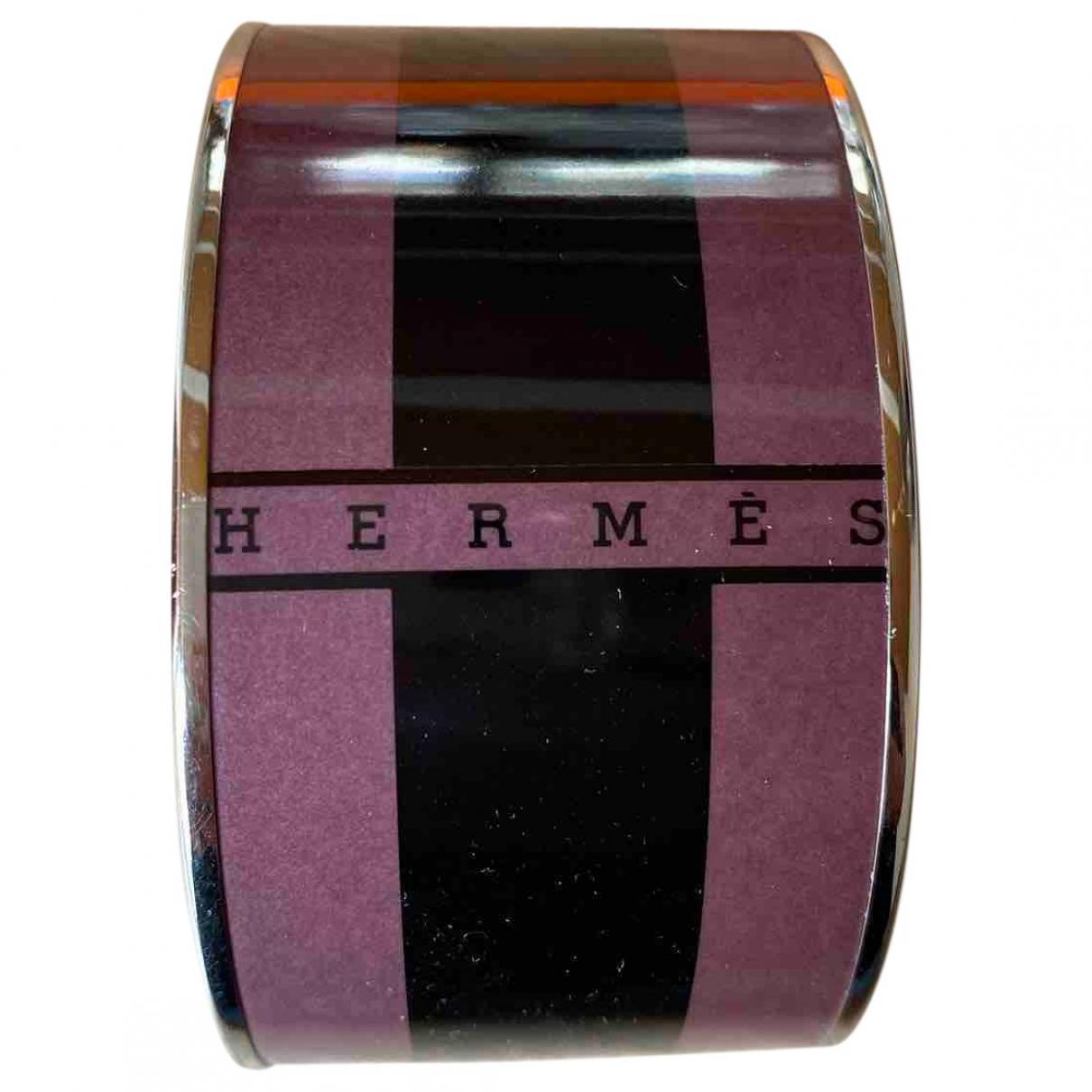 Hermes - Bracelet Bracelet Email pour femme en metal