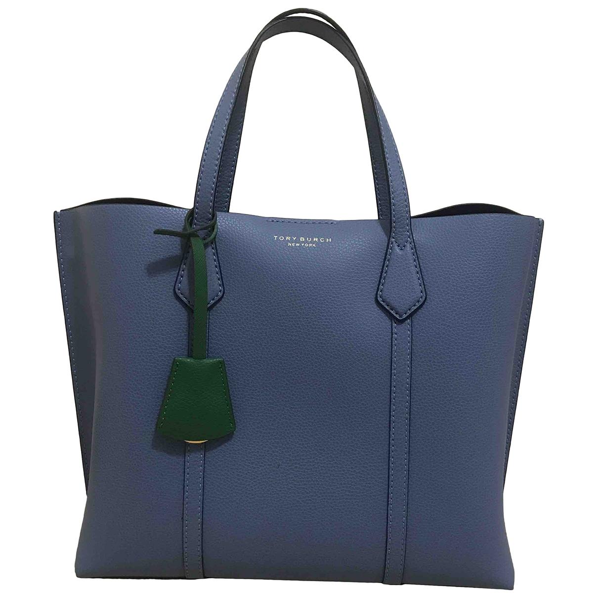 Tory Burch \N Handtasche in  Blau Leder