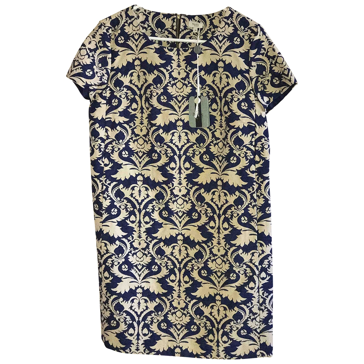 Hoss Intropia \N Kleid in  Blau Baumwolle