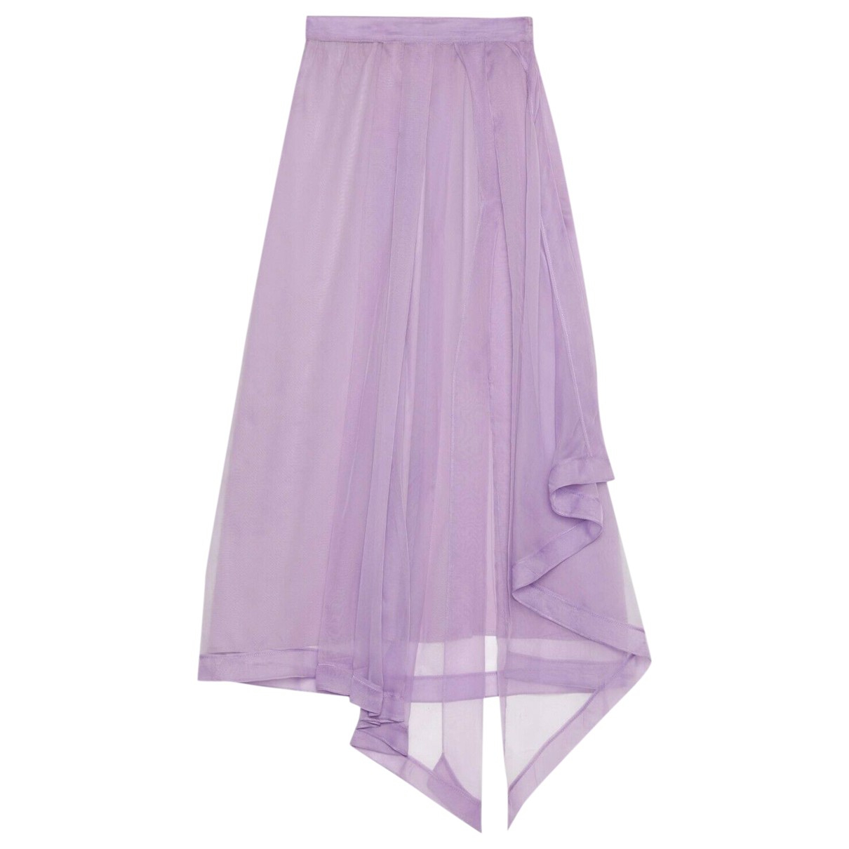 Gucci - Jupe   pour femme en soie - violet