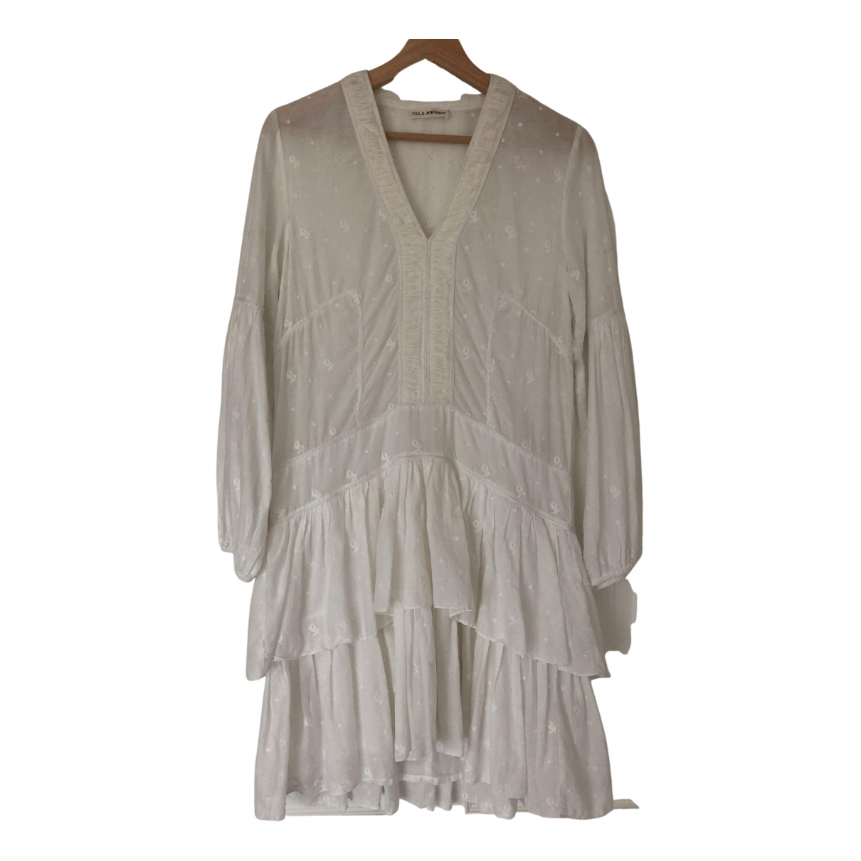Ulla Johnson - Robe   pour femme en coton - blanc