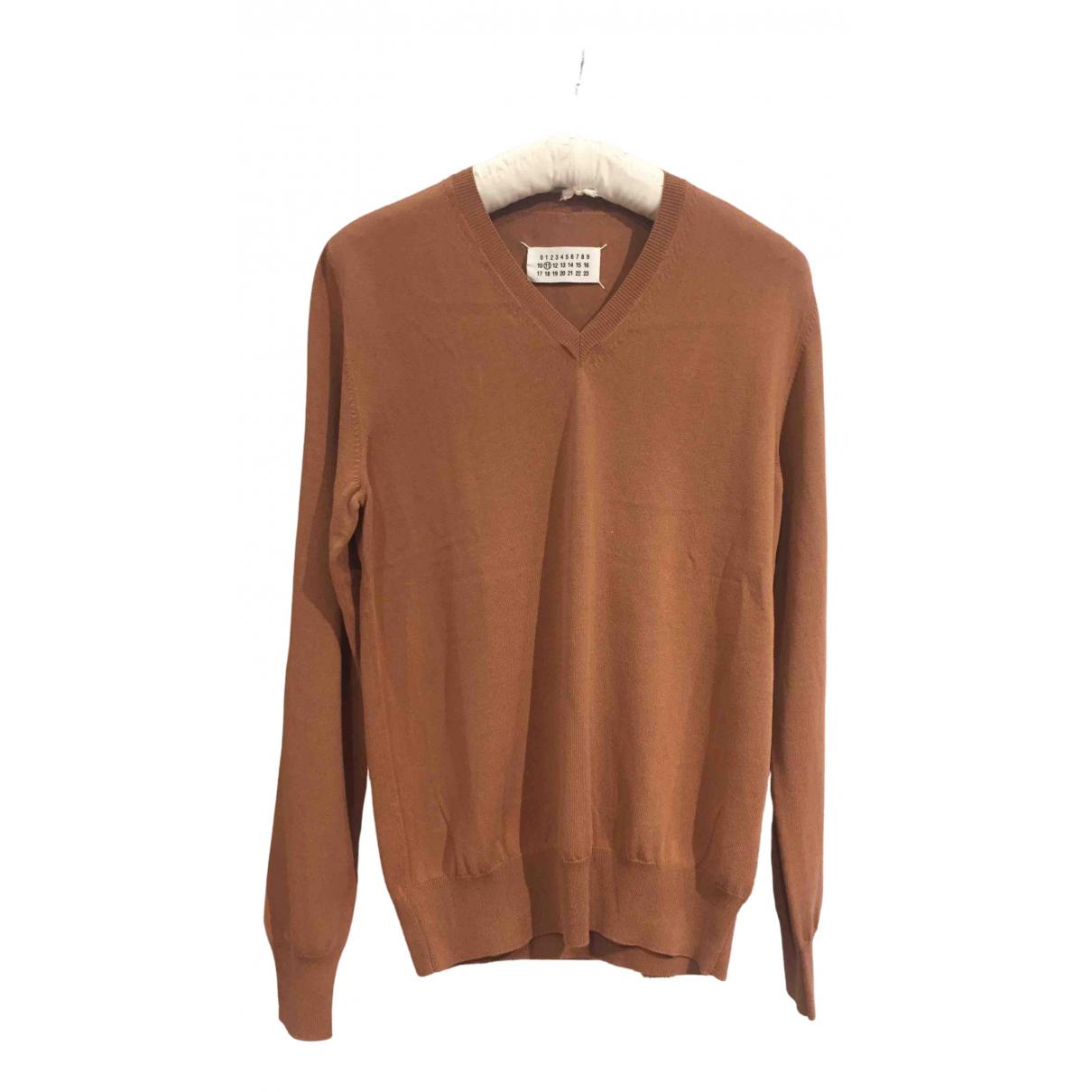 Maison Martin Margiela \N Pullover.Westen.Sweatshirts  in  Kamel Baumwolle