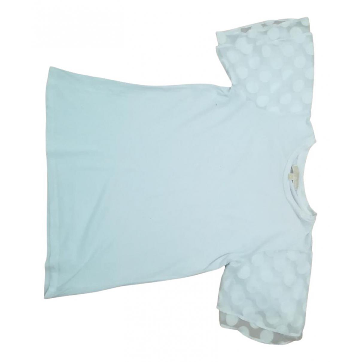 Michael Kors - Top   pour femme en coton - blanc