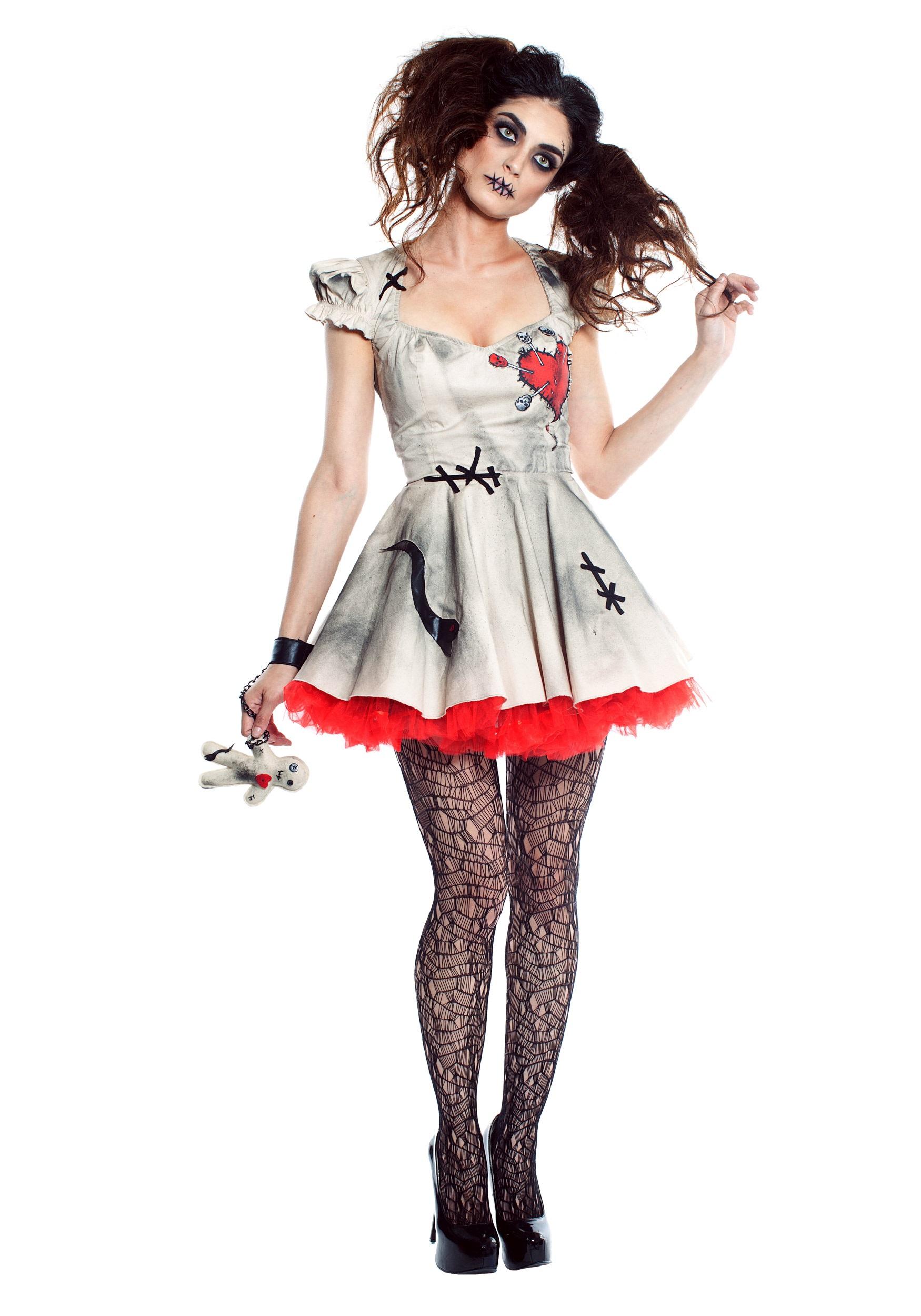 Voodoo Doll Costume for Women
