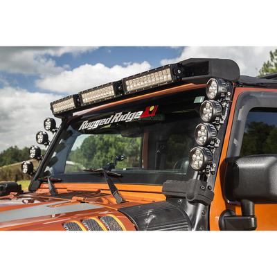 Rugged Ridge Elite Fast Track Windshield Light Bar (Black) - 11232.50