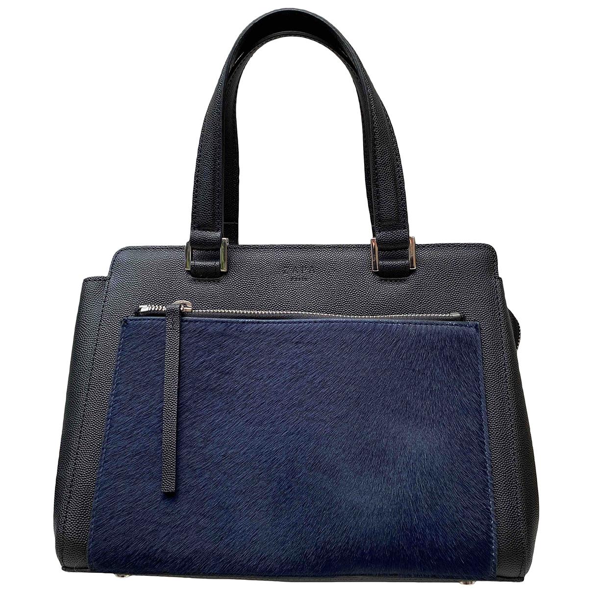 Zapa \N Black Leather handbag for Women \N