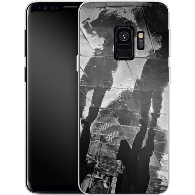 Samsung Galaxy S9 Silikon Handyhuelle - It Must Be Monday Morning von Ronya Galka