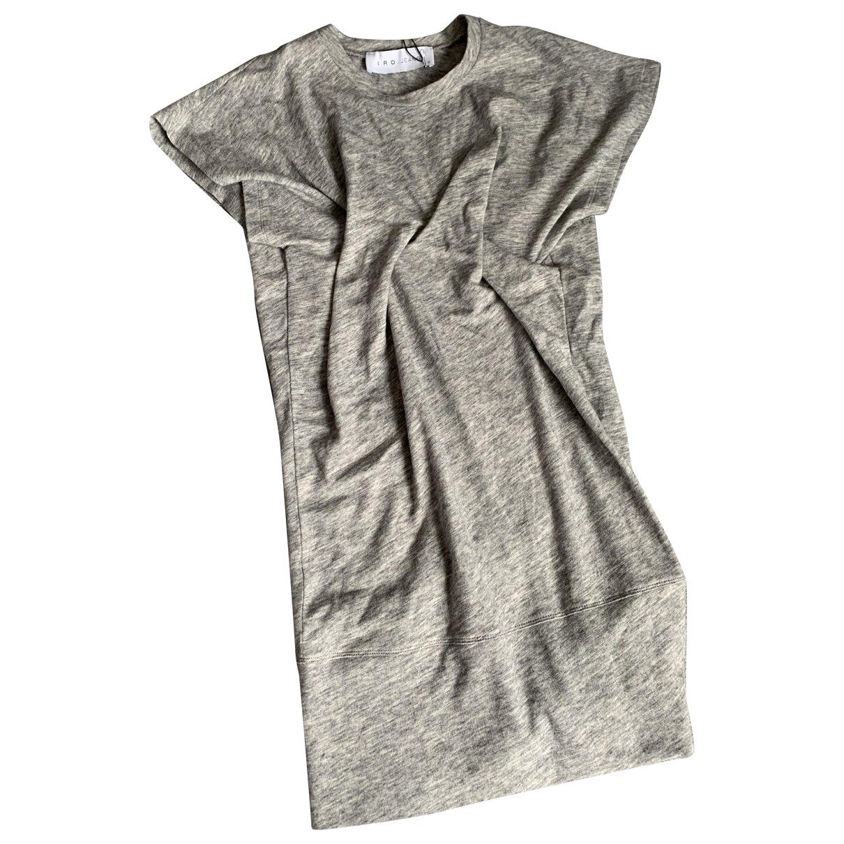 Iro \N Grey Cotton dress for Women S International