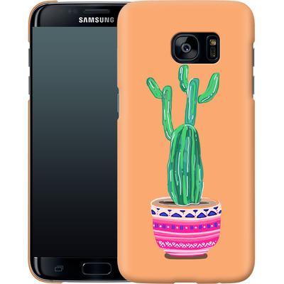 Samsung Galaxy S7 Edge Smartphone Huelle - Cacti Love von Mukta Lata Barua
