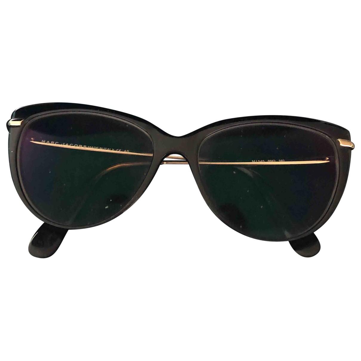 Marc Jacobs \N Black Metal Sunglasses for Women \N