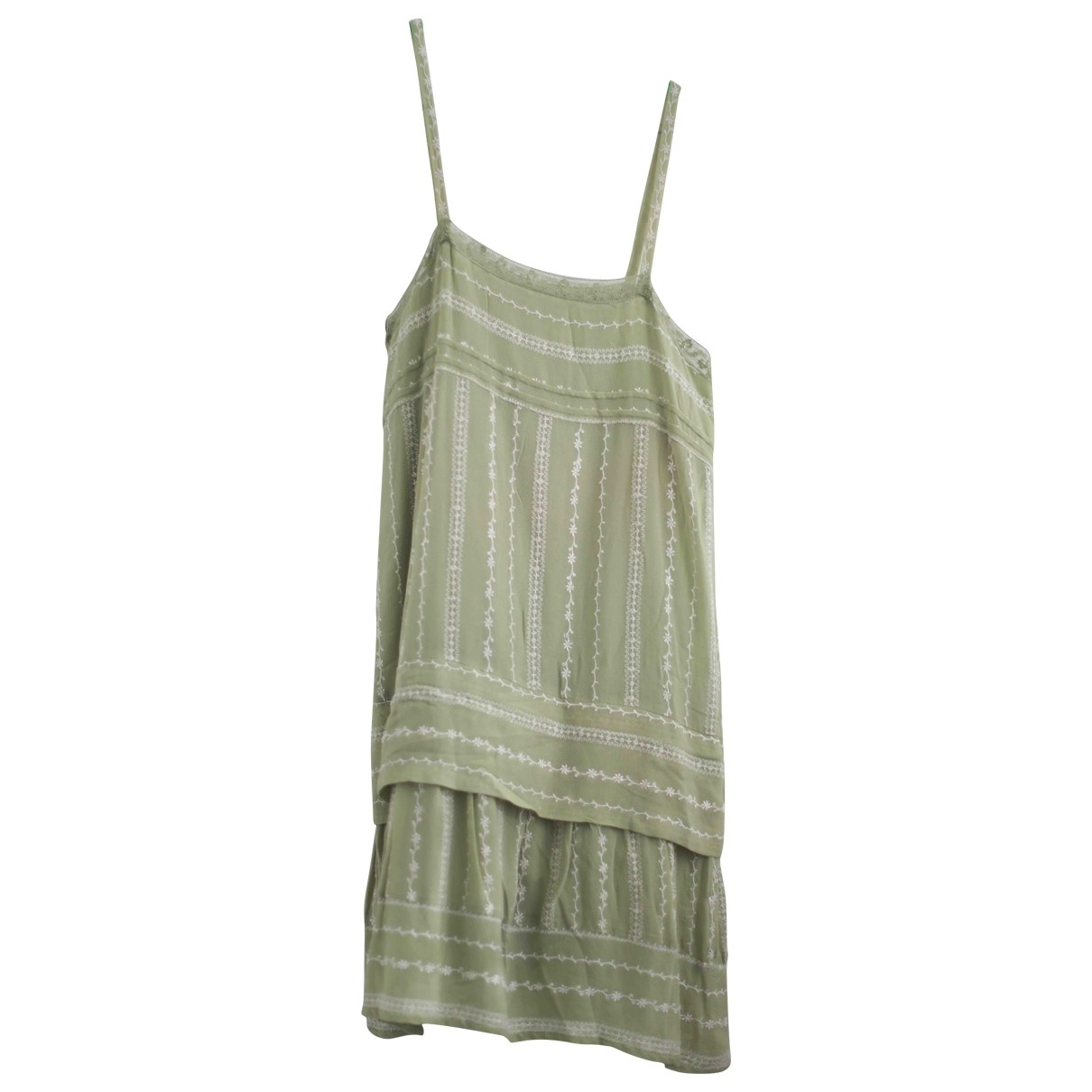 Mes Demoiselles ... \N Green Silk dress for Women 40 FR