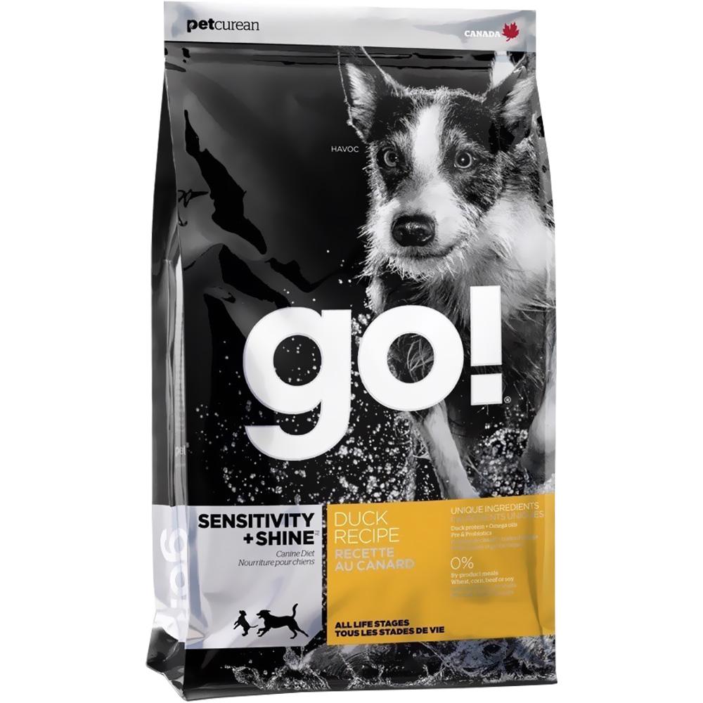 Petcurean Go! Sensitivity + Shine Dog Food - Duck (25 lb)
