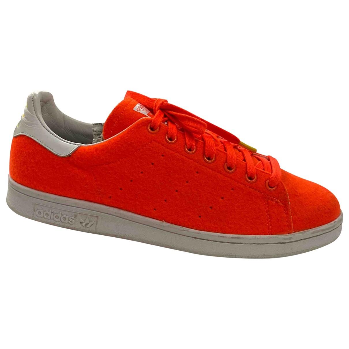 Adidas X Pharrell Williams \N Sneakers in Leder