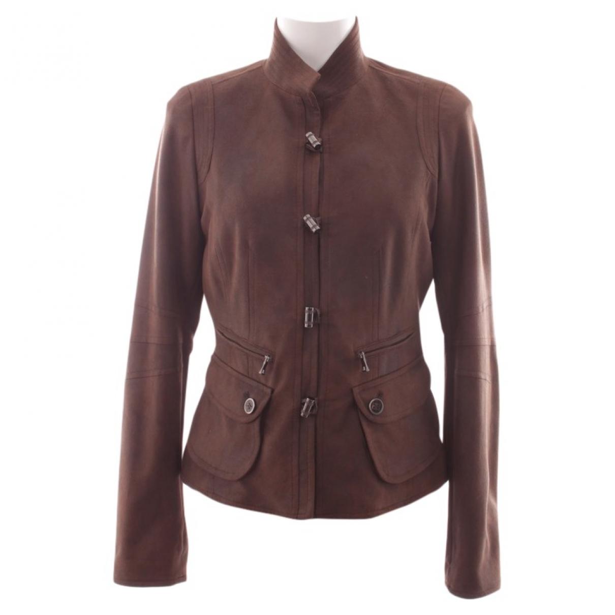 Autre Marque - Veste   pour femme en coton - marron