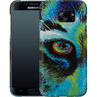 Samsung Galaxy S7 Smartphone Huelle - Will Cormier - Tiger Eyes von TATE and CO