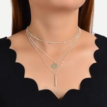 Silber Laessig Halsketten