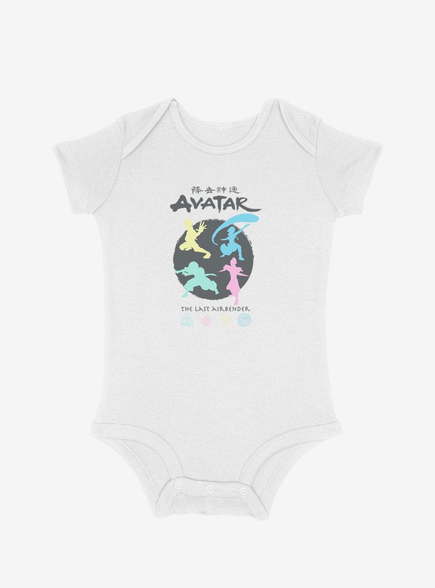 Avatar: The Last Airbender Four Elements Infant Bodysuit