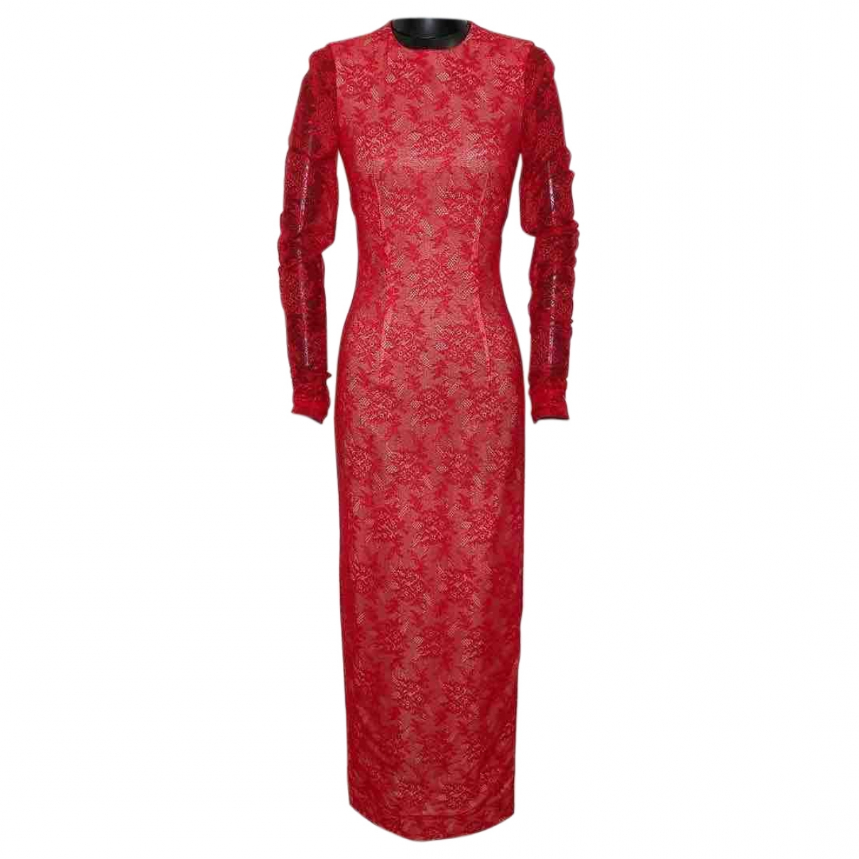 Alessandra Rich \N Red Lace dress for Women S International