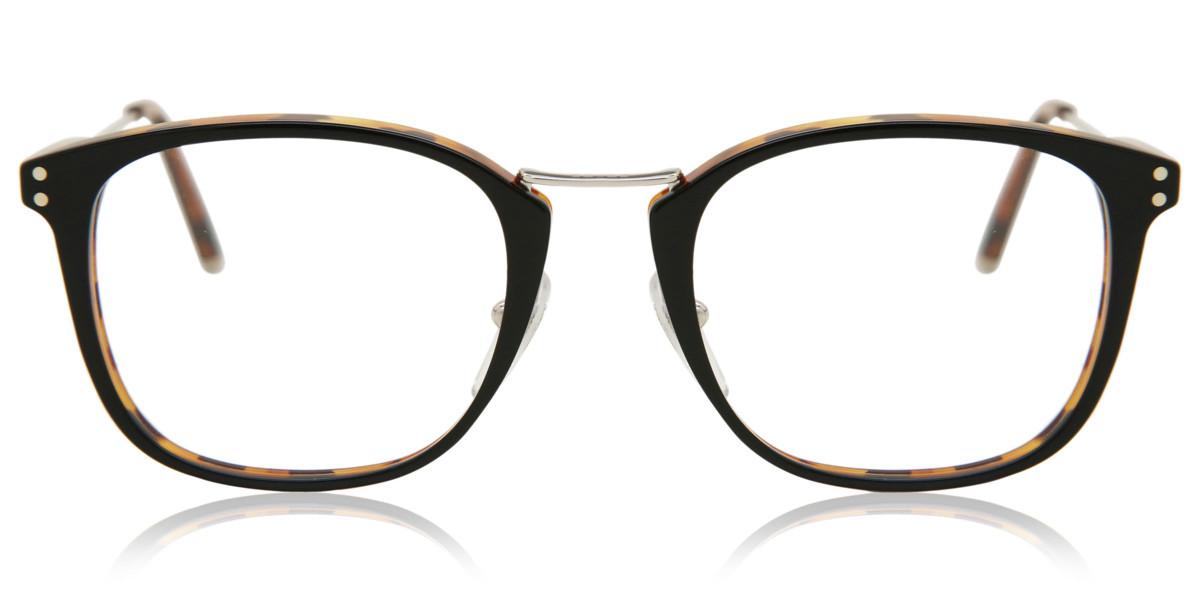 Retrosuperfuture Numero 44 Nero/Havana IKMB UBP Men's Glasses Tortoise Size 49 - Free Lenses - HSA/FSA Insurance - Blue Light Block