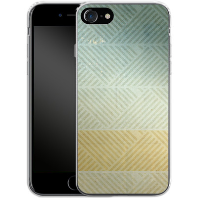 Apple iPhone 8 Silikon Handyhuelle - Triangles Artifact von Brent Williams