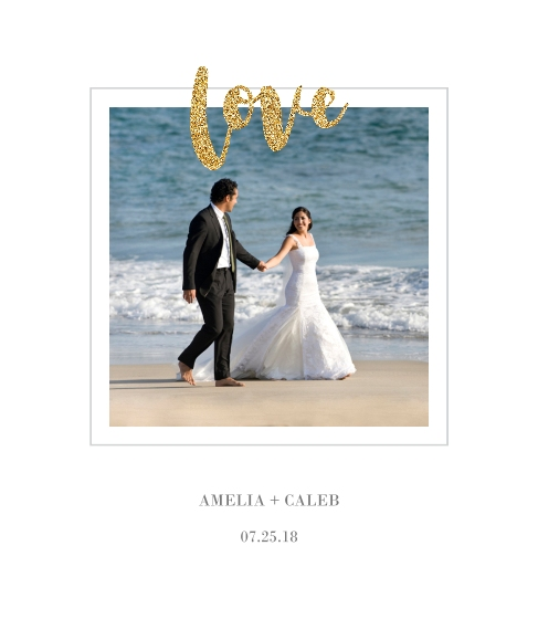 Love Canvas Print, 20x24, Home Décor -Love Glitter