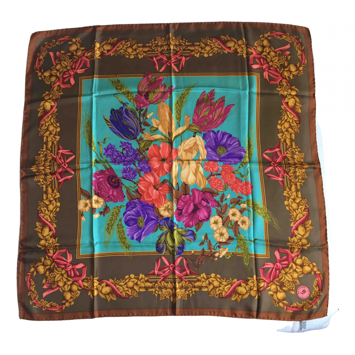 Mantero Viii N Multicolour Silk scarf for Women N