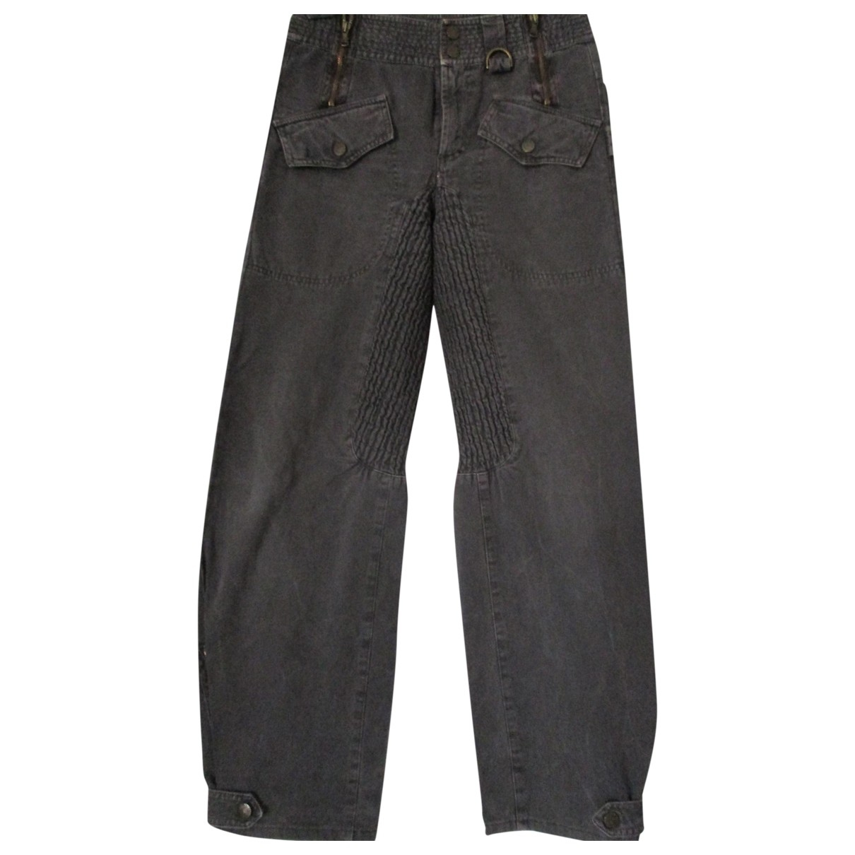 D&g \N Cotton Trousers for Women 40 IT