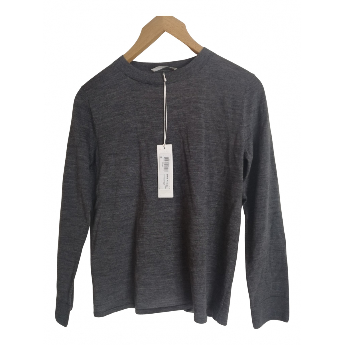 Stefanel \N Pullover in  Grau Wolle