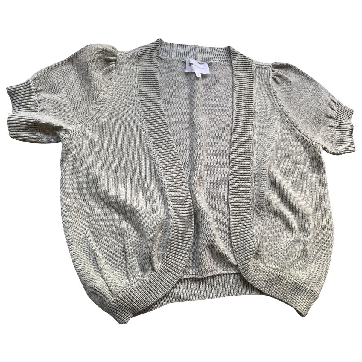 Vanessa Bruno Athe \N Grey Cotton Knitwear for Women 1 0-5