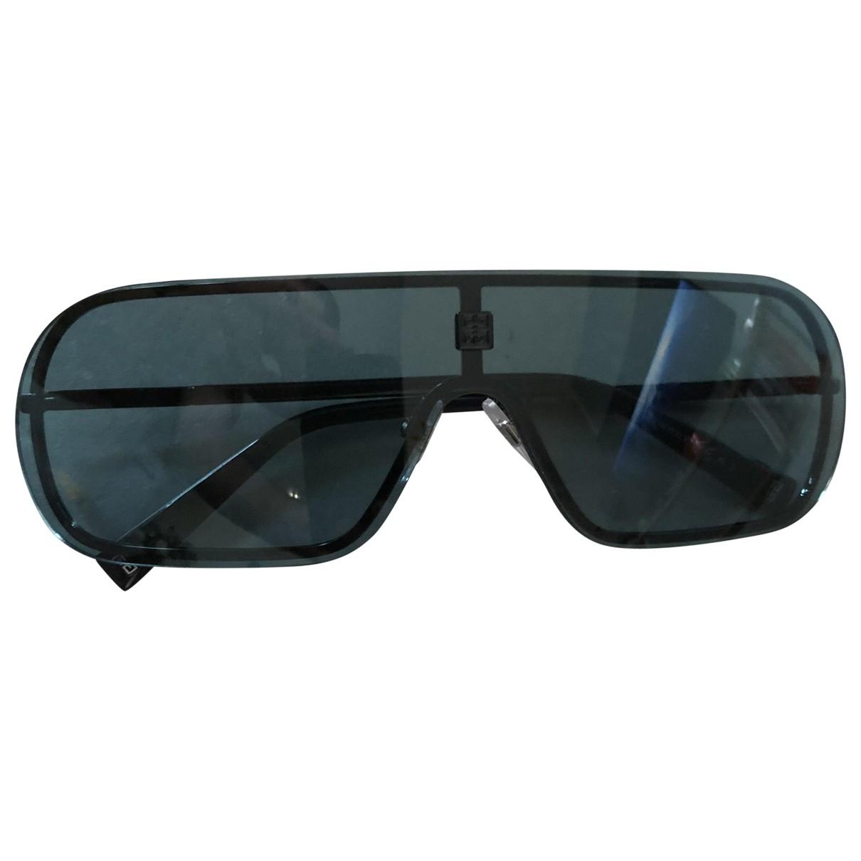 Givenchy \N Blue Metal Sunglasses for Men \N