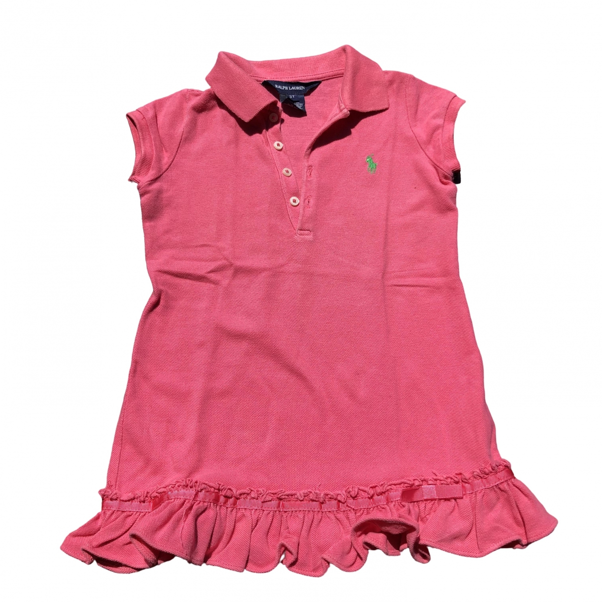 Ralph Lauren \N Kleid in  Rosa Baumwolle