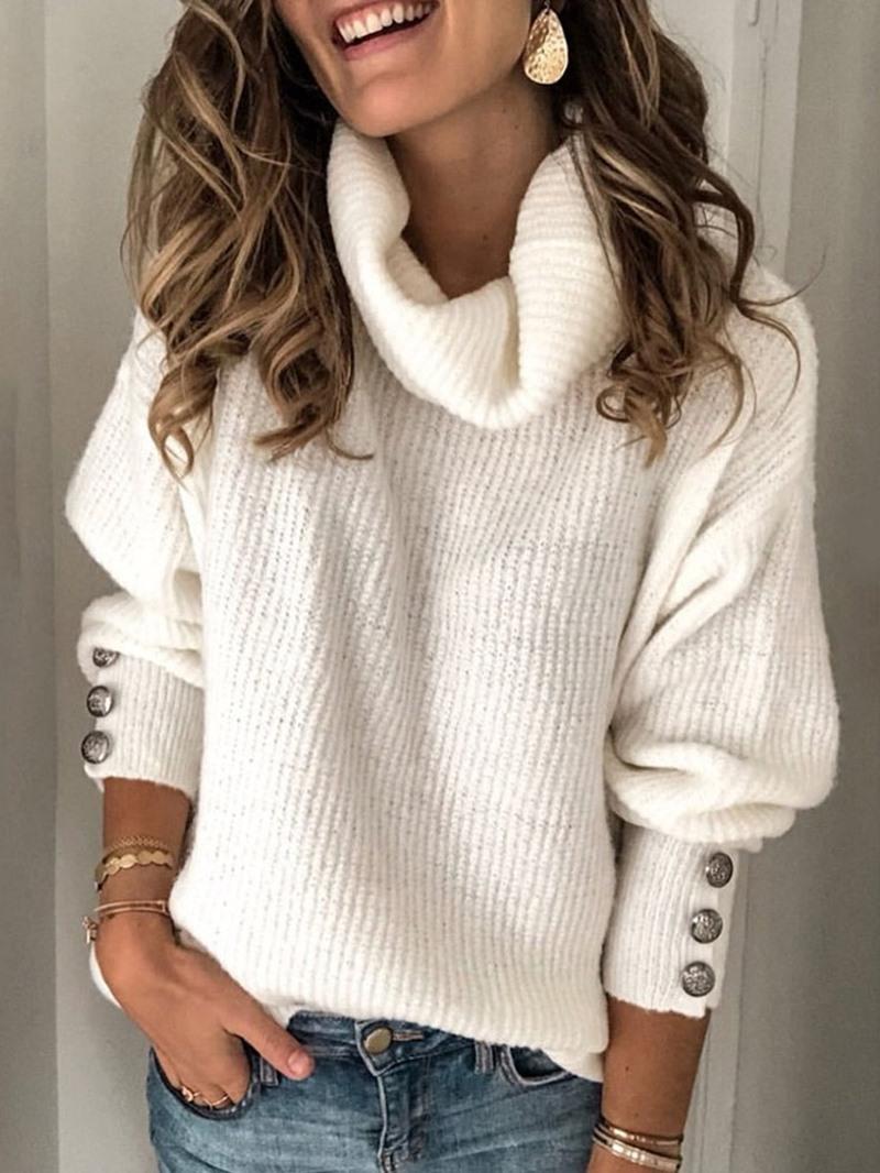 Ericdress Loose Standard Women's Sweater