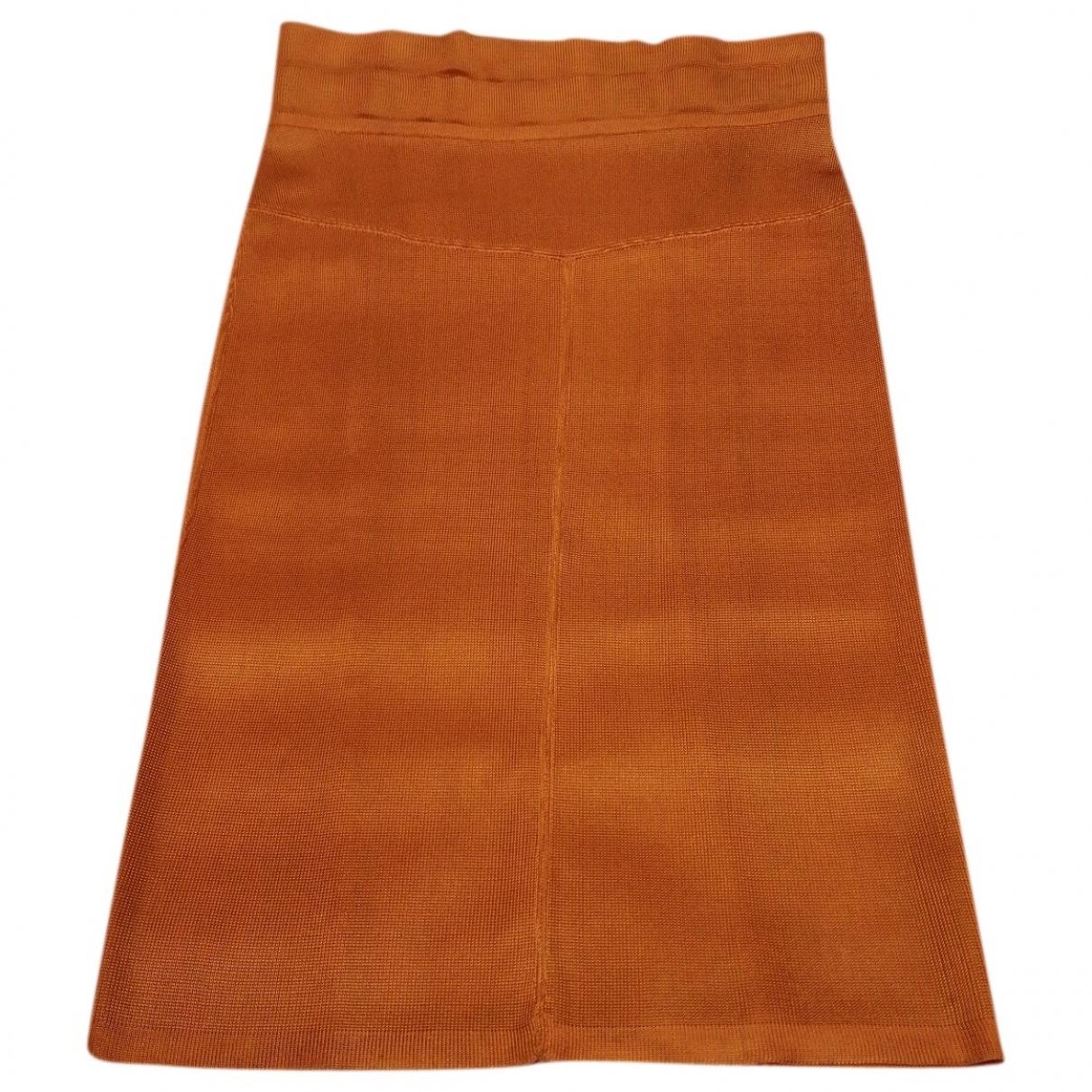 Alaia - Jupe   pour femme - orange