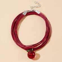 Apple Rope Bracelet