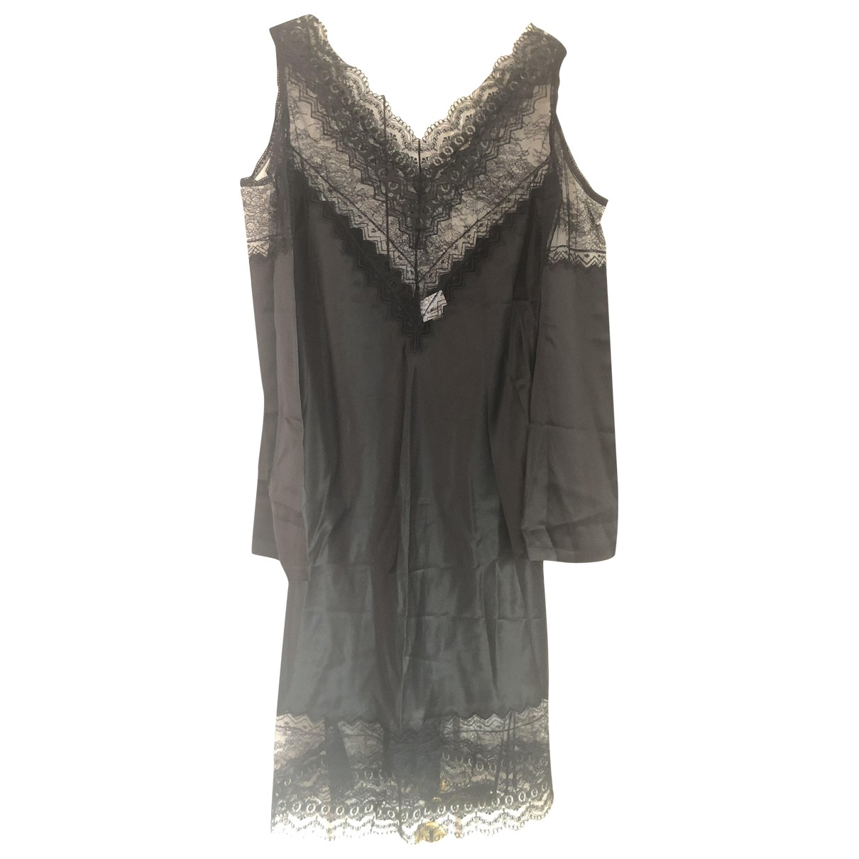 Vestido de Seda Burberry