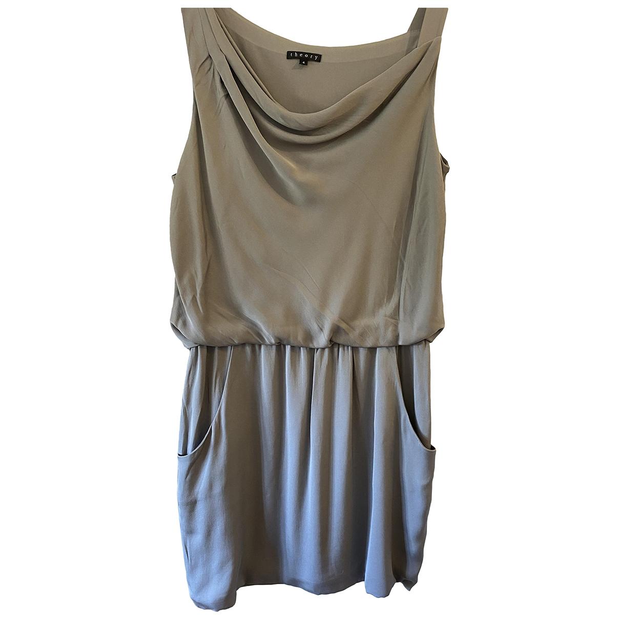 Vestido de Seda Theory