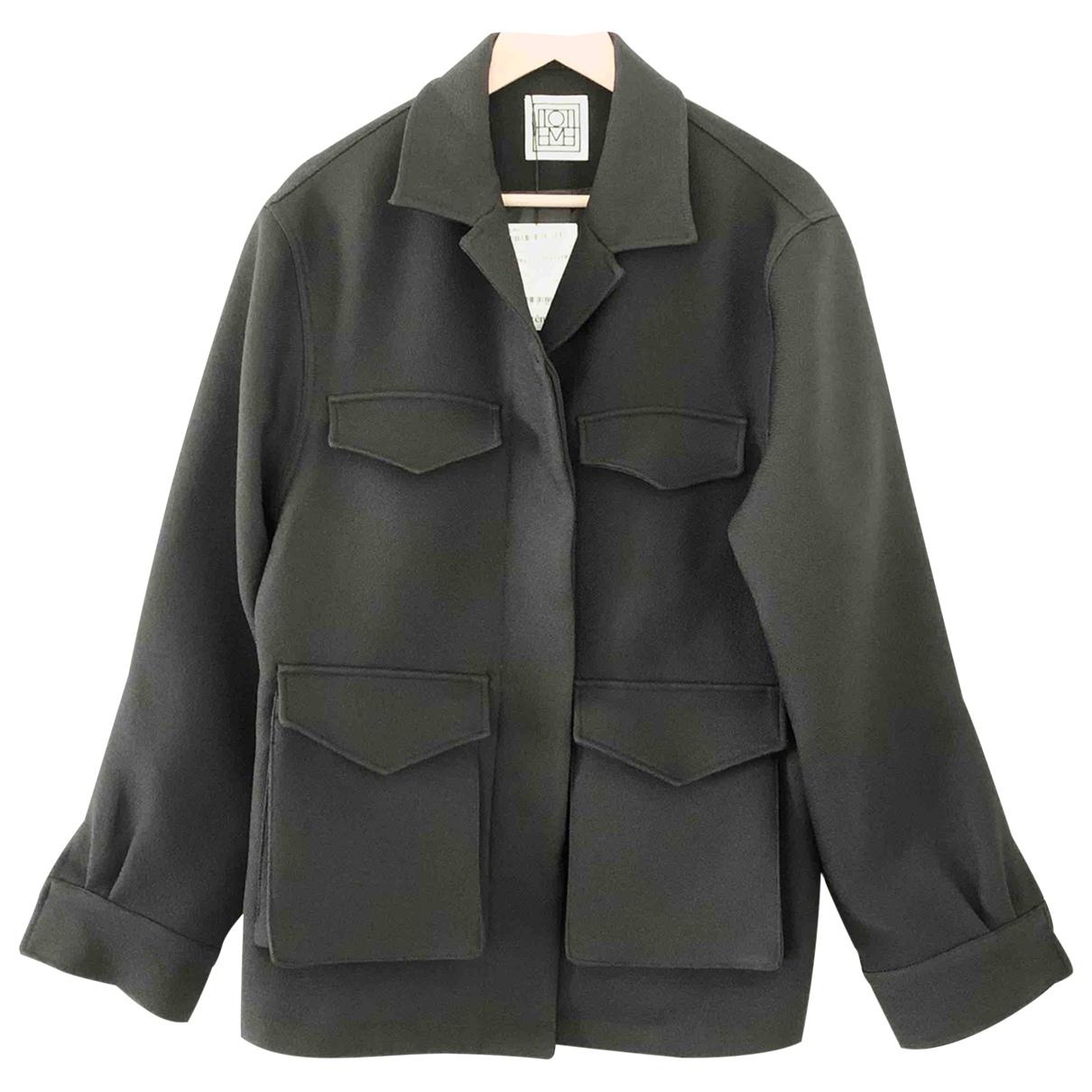 Totême \N Black coat for Women S International