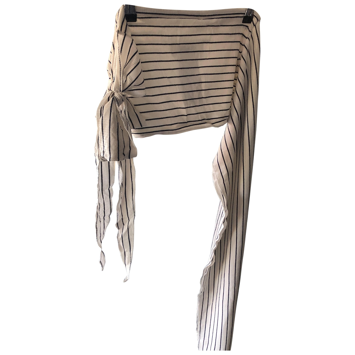 Mm6 \N Schal in  Beige Polyester