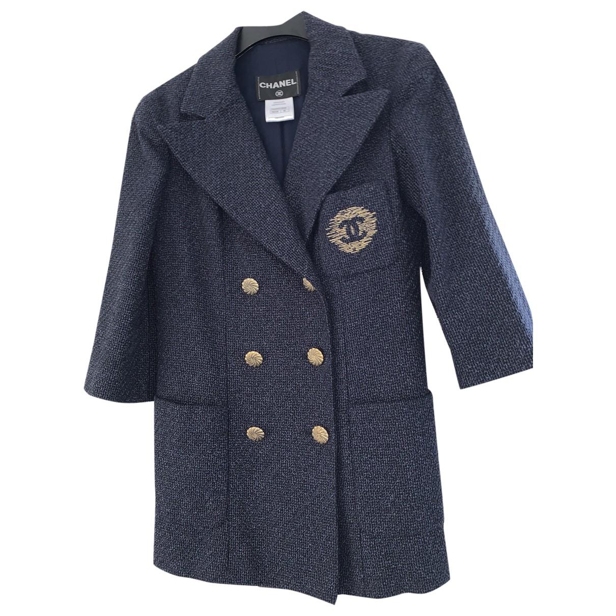 Chanel \N Blue Cotton jacket for Women 36 FR