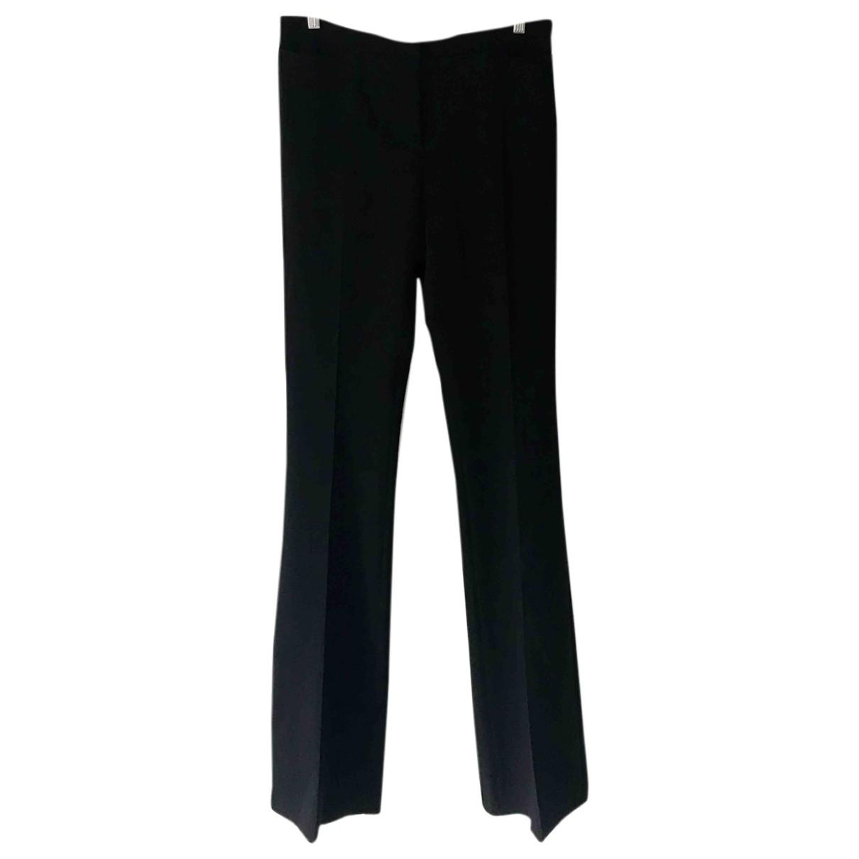 Max Mara \N Black Wool Trousers for Women 44 IT